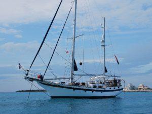zeilboot-zee