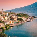 Het Comomeer in Italië
